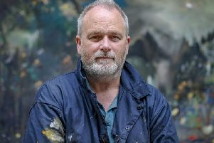 Scarborough based artist Kane Cunningham whose exhibition of landscape painting from the North Yorkshire Coast to the Lake District opens at Scarborough Art Gallery from September 14