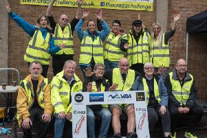 Rain didn't dampen spirits at The Cragg Challenge