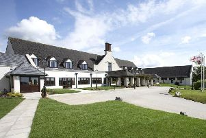 The exterior of Lancaster House Hotel.