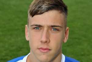 Josh Batty pictured in his first spell at Trinity.