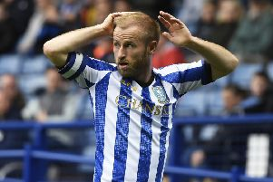 Sheffield Wednesday midfielder Barry Bannan, who admits he is uncomfortable with Sheffield United doing so well in the Premier League. (PHOTO BY: George Wood/Getty Images)