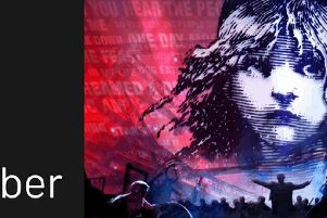 Les Miserables: The Staged Concert is being shown at Trinity Arts Centre next week.