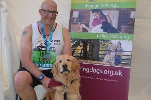 As a member of the Hearing Dogs running team people be supported every step of the way, with fundraising advice before the event, and on the day a warm welcome, refreshments and a professional sports massage.