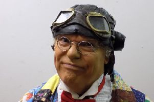 Roy Chubby Brown is live at the Baths Hall this week.