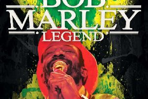 Legend - The Music of Bob Marley is coming to the Baths Hall next month.