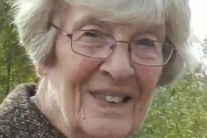 Hilda Moore, 95, suffered a massive internal brain haemorrhage after being hit by a wave from traffic driving through a flooded street.
