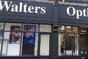 Walters Opticians. Picture: Google.