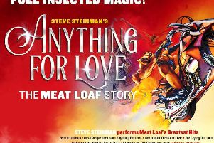 Steve Steinman's Anything For Love - The Meatloaf Story is at the Baths Hall in October