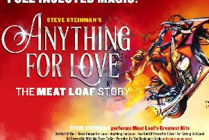 Steve Steinman's Anything For Love -  The Meat Loaf Story comes to Lincolnshire this autumn