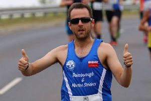 Wayne Greenfield, who is one of the Striders in training for the London Marathon in April.