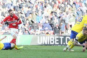 Lewis Wing scored for Middlesbrough. Getty Images.