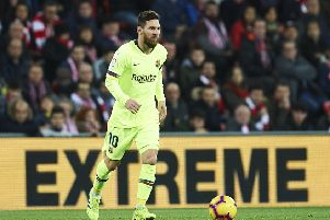 Lionel Messi is to extend his contract at FC Barcelona. (Photo by Juan Manuel Serrano Arce/Getty Images)