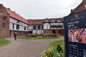 Gainsborough Old Hall, which is more than 500 years old.