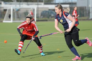 Ella Martin in action for Lytham St Annes Ladies Picture: DANIEL MARTINO