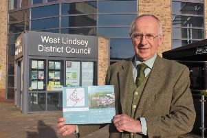 Coun Jeff Summers, leader of West Lindsey District Council.