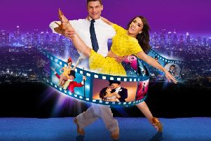 Strictly Come Dancing pair Aljaz Skorjanec and Janette Manrara bring their new show to the Baths Hall next week.