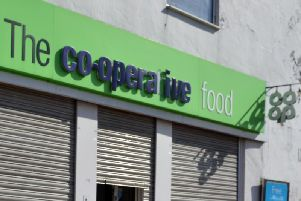 A Co-operative Foodstore was targeted.