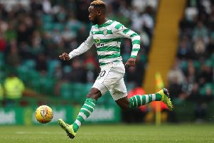 Moussa Dembele is a possible Manchester United target.  (Photo by Ian MacNicol/Getty Images)