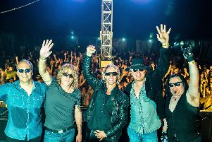 The Bon Jovi Experience are live in Gainsborough this weekend