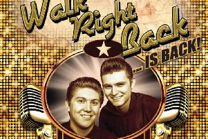 Everly Brothers tribute Walk Right Back is at the Baths Hall this week