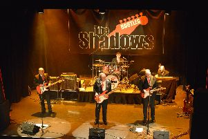 The Bootleg Shadows are live in Gainsborough this weekend.