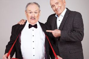 Cannon & Ball are live at the Plowright Theatre this week.