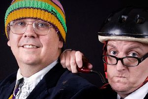 The Raymond & Mr Timpkins Review are part of the Funhouse Comedy Club line-up in Gainsborough.