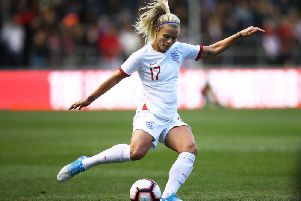 Rachel Daly in action for England. Picture: Getty Images