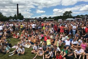 Last year's Briercliffe Festival was a huge successful