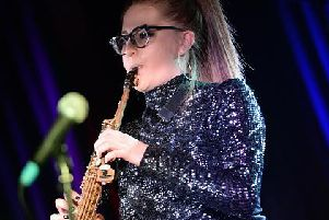 Classical Brit Award winner Jess Gillam is part of the line-up for this year's Lincolnshire International Chamber Music Festival.