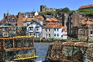 Whitby harbour.