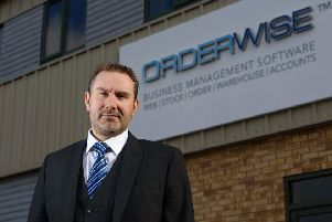 David Hallam, boss of OrderWise. (PHOTO BY: Steve Smailes Photography)