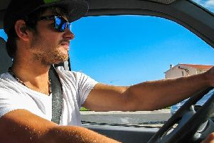 Wearing sunglasses while driving could land you a fine
