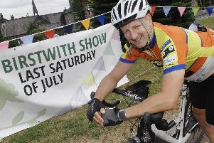 Invitation to join him on a fantastic Dales cycle for charity - Harrogate man Sean McPartland who has been taking part in the Arctic to Africa challenge.