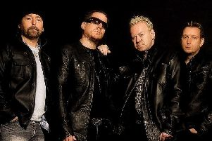 U2 tribute U2-2 are coming to the Baths Hall in 2021.
