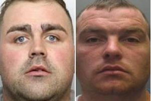 Fred Stewart (left) and Shaun Price have been jailed.