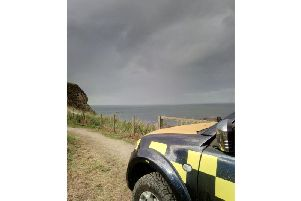 Coastguards made a thorough search of the area. PIC: Coastguard