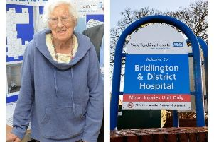 Chair of Bridlington Health Forum, Jean Wormwell MBE