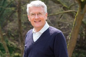 Harrogate and Knaresborough MP Andrew Jones who has carried out his own Harrogate Retail Inquiry, asking local residents what they think about the state of the  town centre.