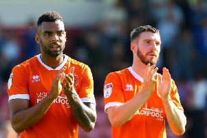 Blackpool were disappointed to come away with just a point from yesterday's game at Rochdale