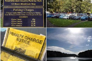 Two of the district's country parks are among the most ticketed sites by parking wardens. Pictures by Getty/Scott Merrylees/JPIMedia