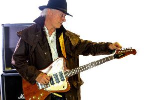 Del Bromham from the band Stray will be playing in Blackpool on October 9.