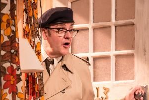 Joe Pasquale as Frank Spencer in Some Mothers Do 'Av' Em. Picture by Scott Rylander.