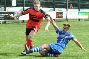 Jake Salisbury scored Garstang's third goal in their victory against Steeton