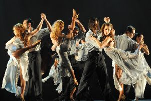 The award winning Tango Fire will perform at Blackpool Grand next February. Picture: David Wyatt.
