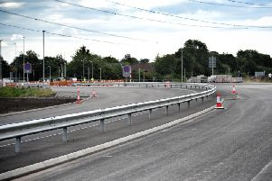 The new Penwortham Bypass will be opened to traffic on Monday morning.