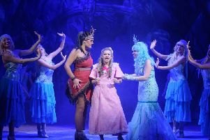 Community groups were invited to see Peter Pan at the Grand Theatre for free.