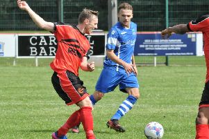Jonny Hothersall caused problems in the second half