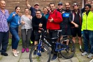 People involved with The Bike Shed project