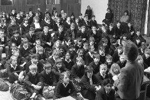 Multi-racial schools in Lancashire face possible religious splits when new education laws are enforced in the county, head teachers warned. Scenes like this traditional Christian morning assembly at Ashton-on-Ribble High School could see some children opted out on religious grounds